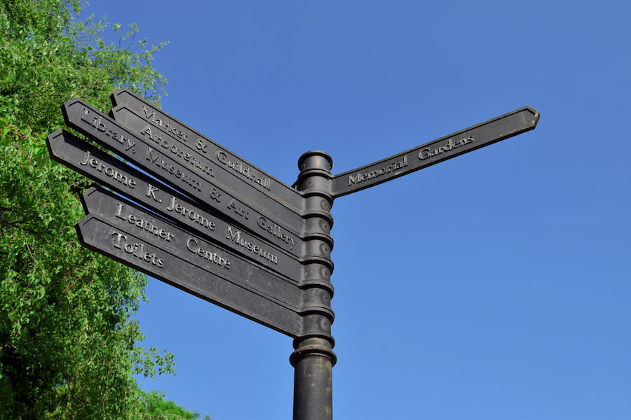 road-sign-walsall